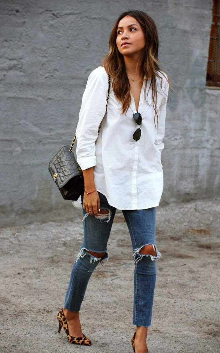 Outfit White Shirt | Is Shirt