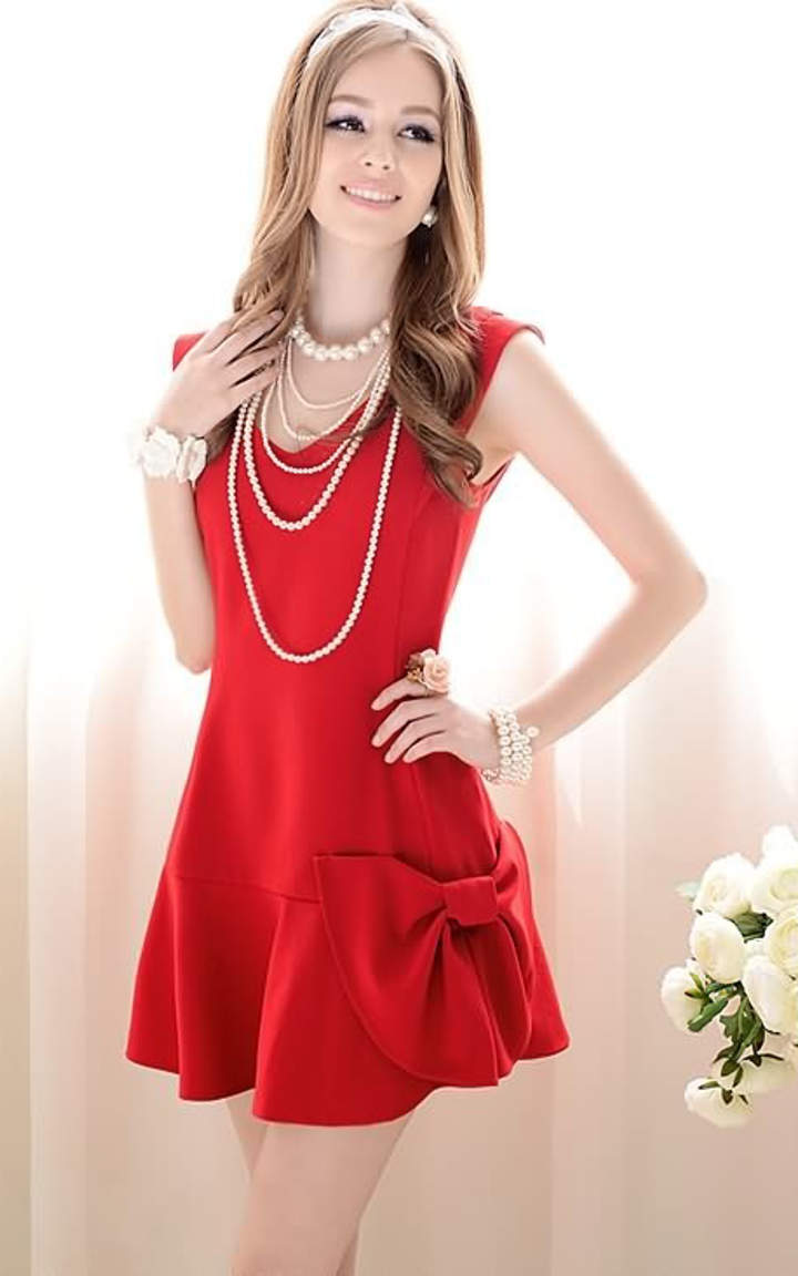 Image result for little red dress photo