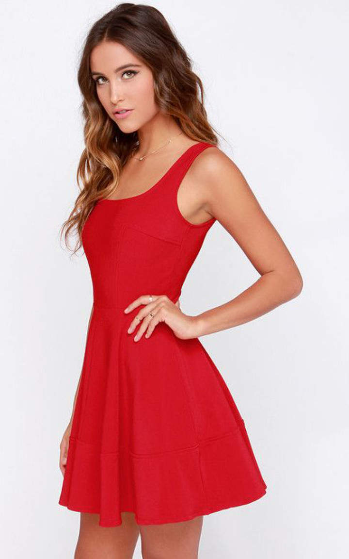 The Little Red Dress Is The Must Have Of This Winter