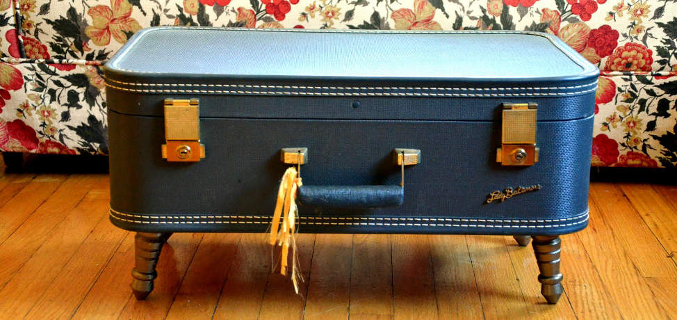 15 amazing ideas to upcycle vintage suitcases