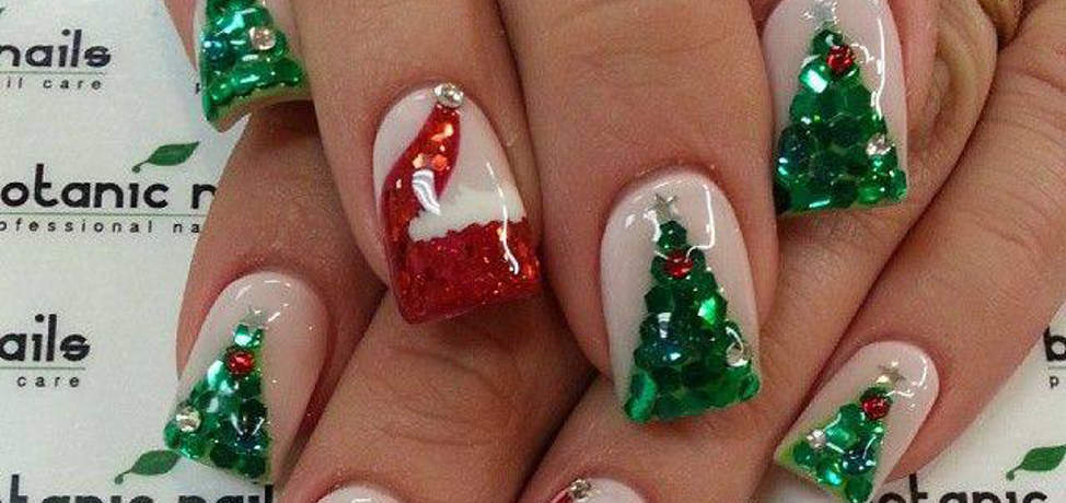 Christmas nail art designs to try this winter (part 1)