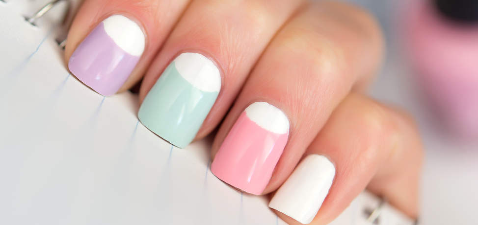 Delicate pastel manicures to wear this spring (part 2)