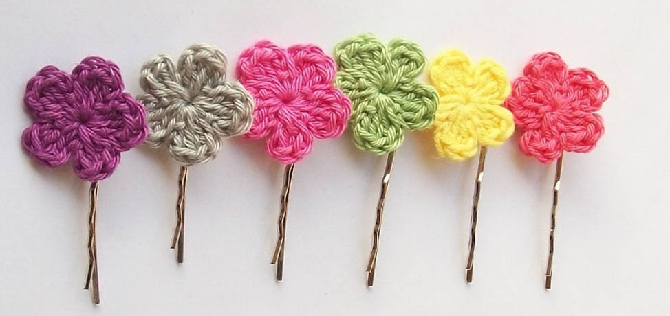 DIY cute hair pins for your little girl