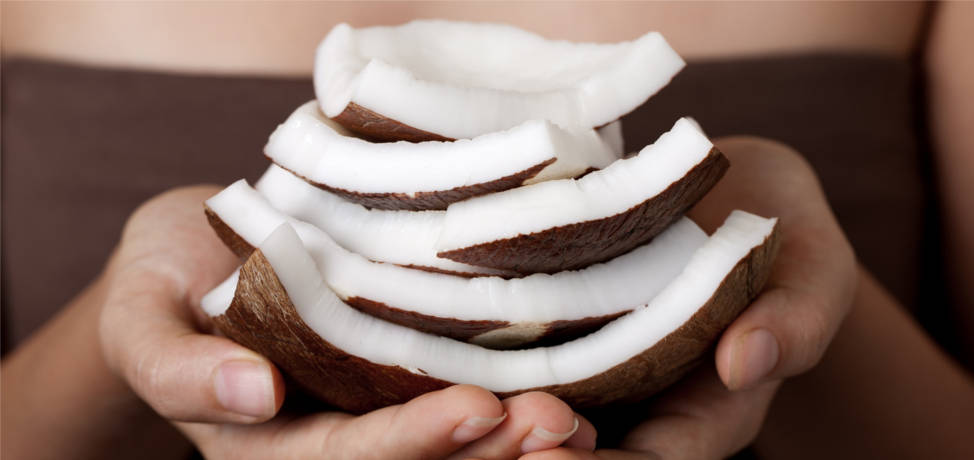 Coconut oil is good for your hair