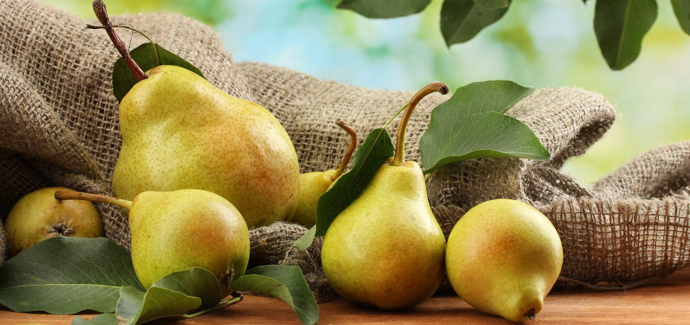 The amazing benefits of pears