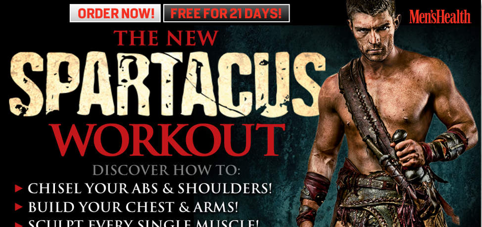 The Spartacus Workout by Men's Health