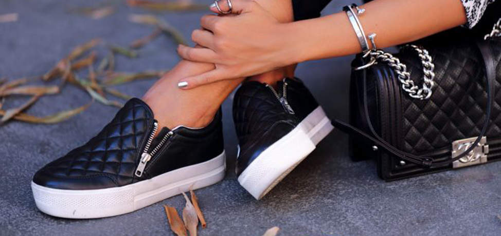 Trendy bag and shoes combinations