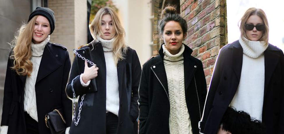Trendy turtleneck outfits to wear this winter