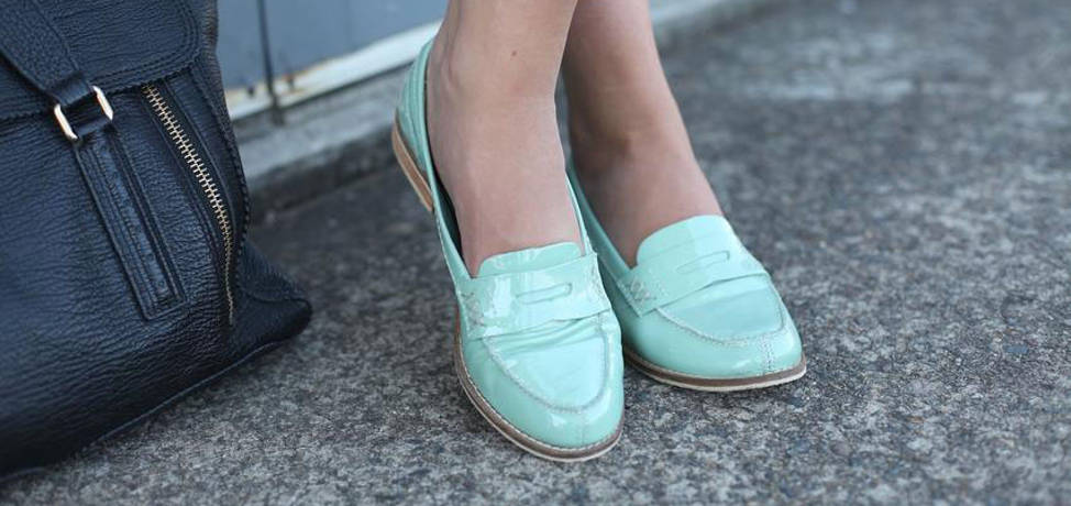 Womens penny loafers